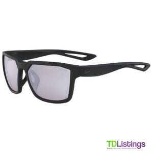 Nike Fleet R Matte Black Square Men's Sunglasses